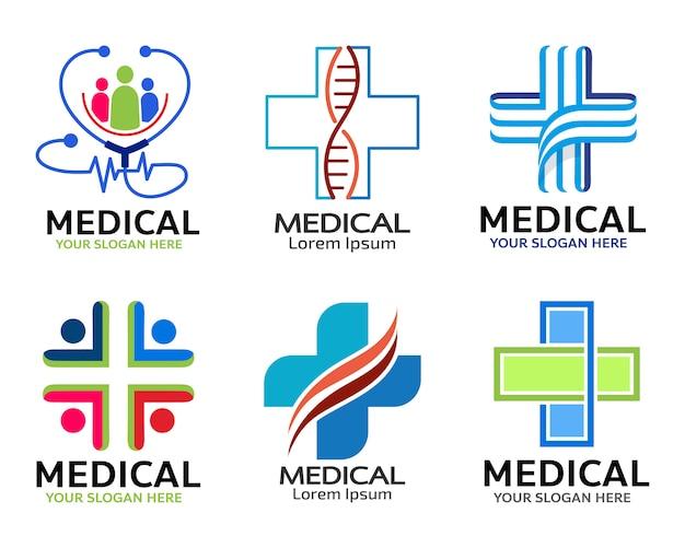 Projeto de ilustração médica ícone vector