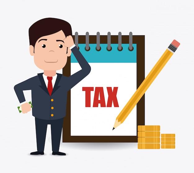 Projeto de impostos.