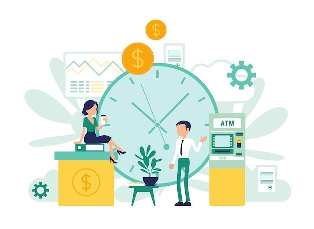 Projeto de instituições financeiras e negócios bancários