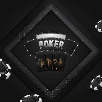 Projeto de invocação de torneio de pôquer de cassino.