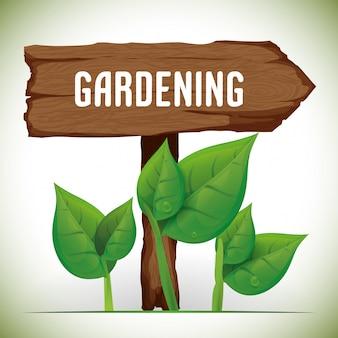 Projeto de jardinagem