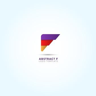 Projeto de logotipo abstrato