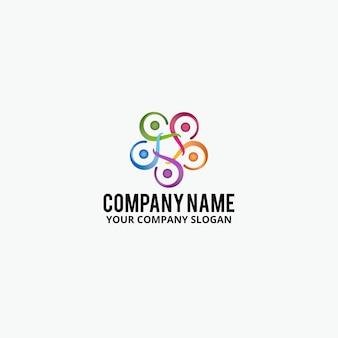 Projeto de logotipo comunitário