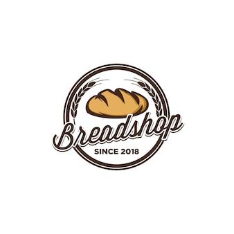 Projeto de logotipo de pão