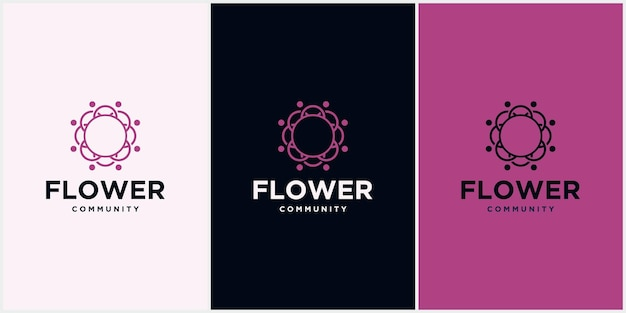 Projeto de logotipo de vetor de folha redonda conceito ecológico logotipo de folha orgânica gráfico de folha de luxo