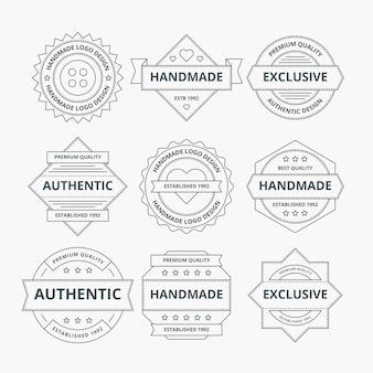 Projeto de logotipo handmade