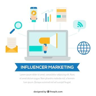 Projeto de marketing influencer