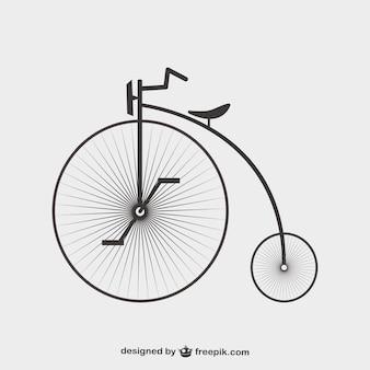 Projeto de modelo de bicicleta gráficos