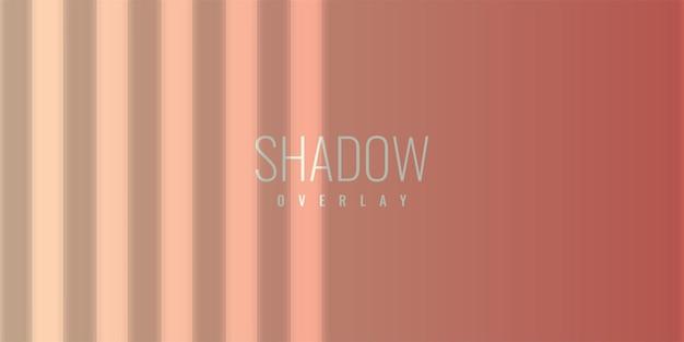 Projeto de modelo de ilustração de fundo de sobreposição de sombra