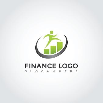Projeto de modelo de logotipo de finanças