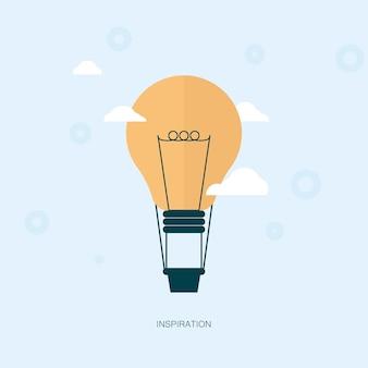 Projeto de modelo de vetor de inspiração