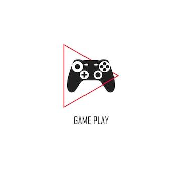 Projeto de modelo de vetor de jogo