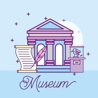 Projeto de monumentos de museu