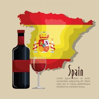 Projeto de música de bandeira de espanha