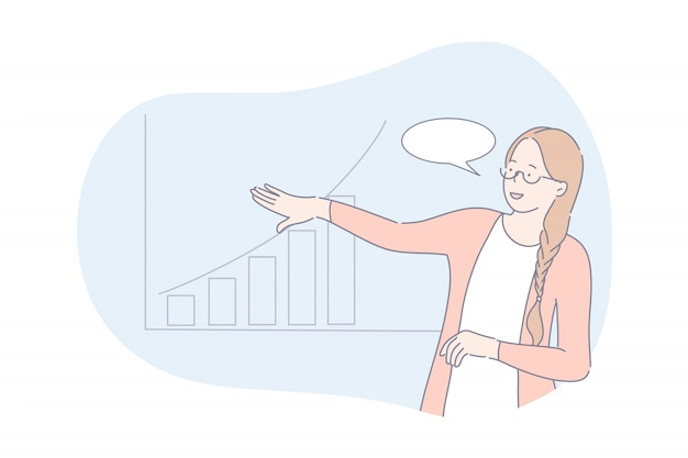 Projeto de negócios, apresentação, conceito de análise