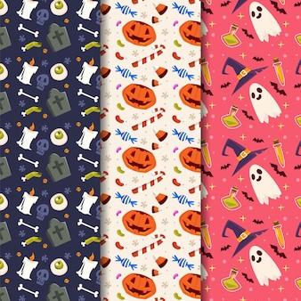 Projeto de padrão de festival de halloween