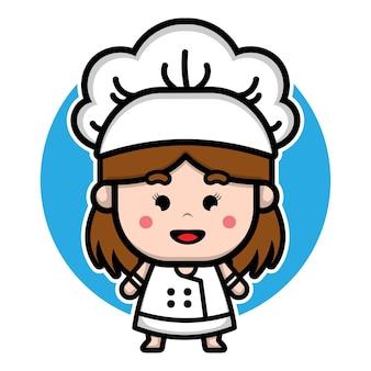 Projeto de personagem chef linda