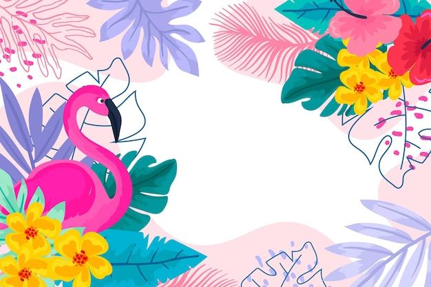Projeto de plano de fundo colorido verão