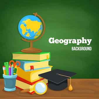 Projeto de plano de fundo de educação