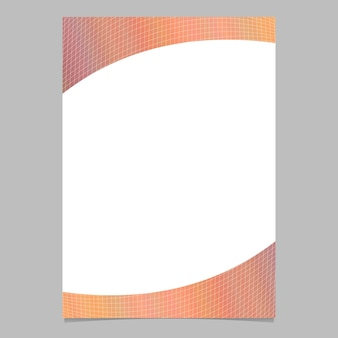 Projeto de plano de fundo de modelo de folheto de gradiente de gradiente abstrato