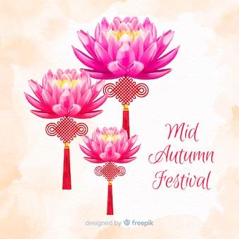 Projeto de plano de fundo para o festival de outono mid