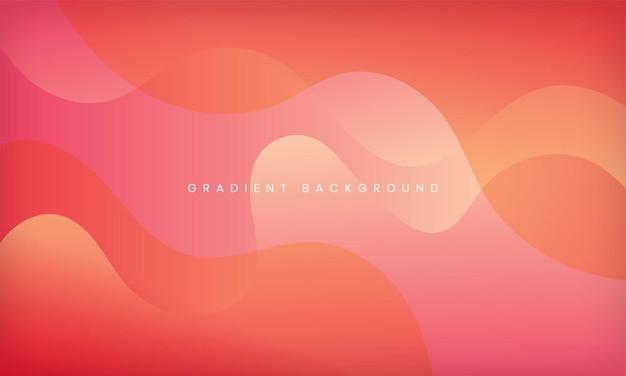 Projeto de plano de fundo texturizado dinâmico em estilo gradiente líquido com cor rosa pêssego moderno mínimo