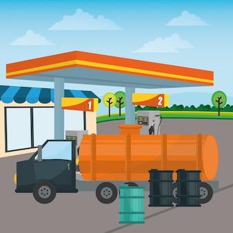 Projeto de posto de gasolina