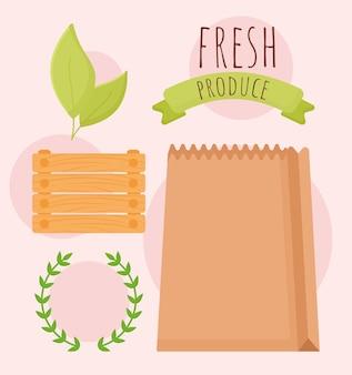 Projeto de produtos frescos