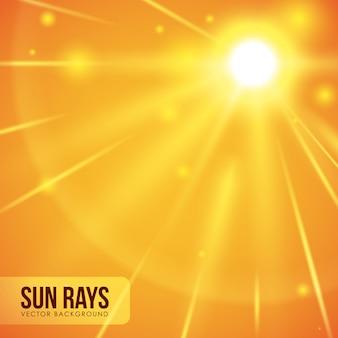 Projeto de raios de sol.