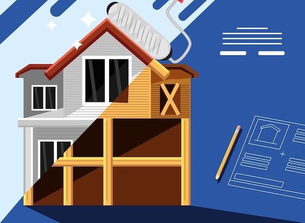 Projeto de reforma da casa