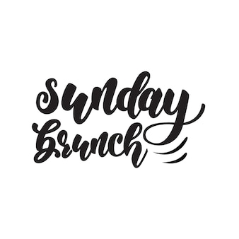 Projeto de rotulação do brunch de domingo