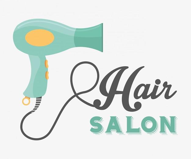 Projeto de salão de cabeleireiro
