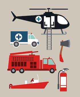 Projeto de serviço de emergência