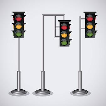Projeto de sinal de estrada