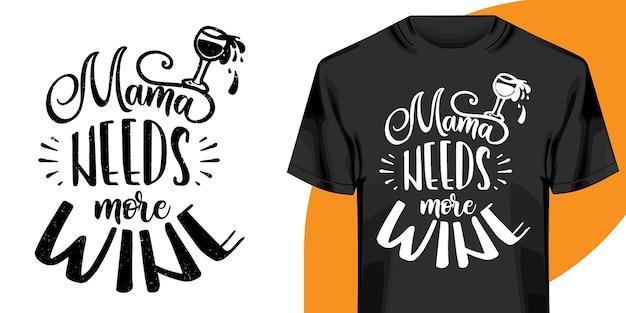 Projeto de t-shirt de palavras motivacionais. design de t-shirt de letras desenhadas à mão. citação, design de t-shirt de tipografia