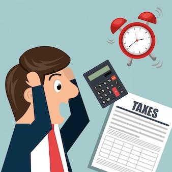 Projeto de tempo de imposto