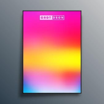 Projeto de textura gradiente abstrato