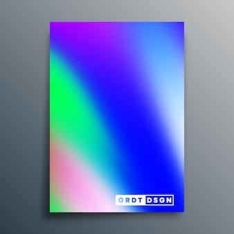 Projeto de textura gradiente para panfleto, cartaz, capa de brochura, plano de fundo, papel de parede, tipografia ou outros produtos de impressão. ilustração vetorial.