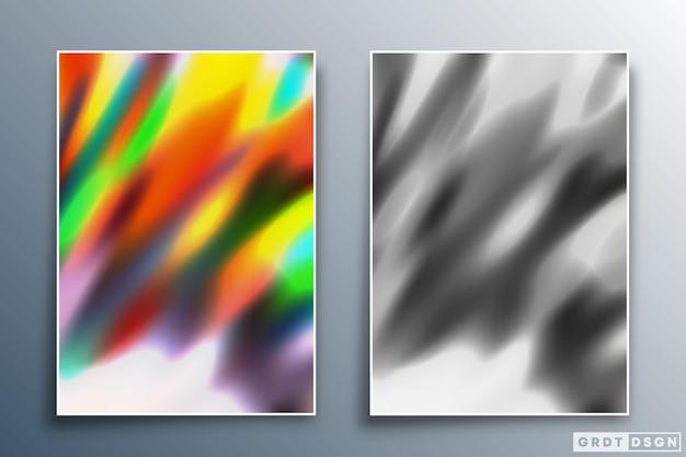 Projeto de textura gradiente para plano de fundo, papel de parede, folheto, cartaz, capa de brochura, tipografia ou outros produtos de impressão. ilustração vetorial.