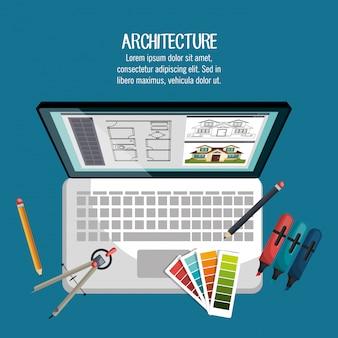 Projeto de trabalho arquitetônico
