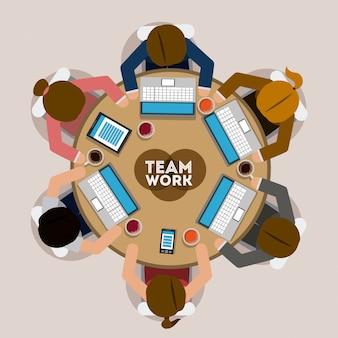 Projeto de trabalho em equipe