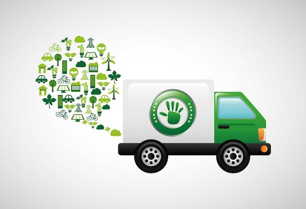 Projeto de transporte de reciclagem