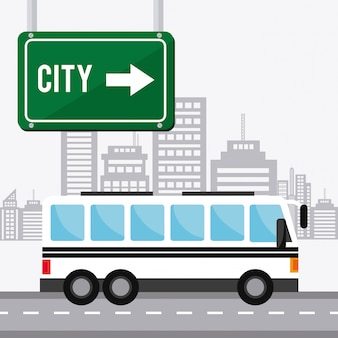 Projeto de transporte, tráfego e veículos