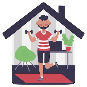 Projeto de treinamento em casa