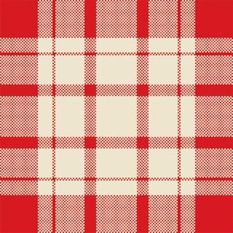 Projeto de vetor de fundo pixel. manta moderna padrão sem emenda.
