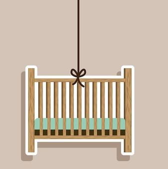 Projeto do chuveiro de bebê