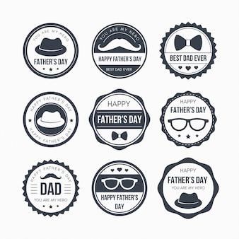 Projeto do emblema do dia dos pais
