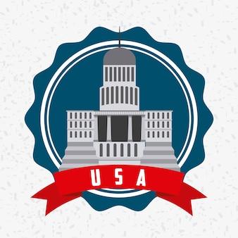 Projeto do emblema dos eua
