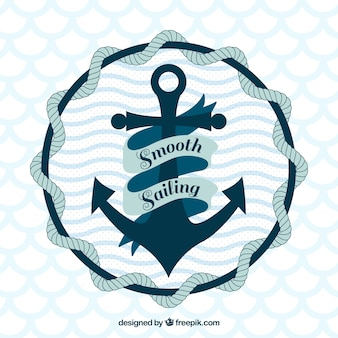Projeto do fundo da anchor