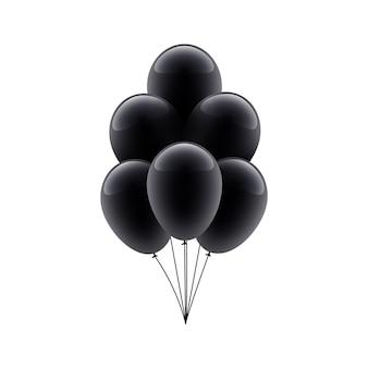 Projeto do fundo da decoração do balão do grupo black friday sale